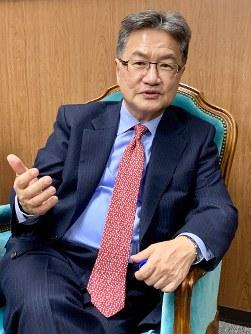 Joseph Yun (Mainichi/Hojin Fukunaga)