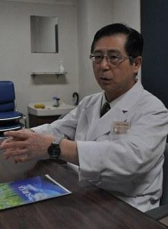 国立駿河療養所などで臨床実習するカリキュラムを進めた宮嶋裕明・浜松医科大教授