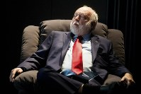In this Feb. 7, 2017 file photo, the government commissioner in charge of the development of Hungary's film industry, Andy Vajna, participates in a discussion at the headquarters of the Hungarian National Film Fund in Budapest. (Zoltan Balogh/MTI via AP)