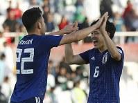 アジア杯決勝トーナメント【日本・サウジアラビア】日本の先発メンバー=UAEのシャルジャで2019年1月21日、AP