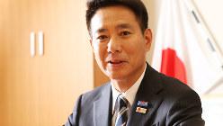 前原誠司さん=太田康男撮影