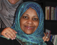In this image provided by Hossein Hashemi, Marzieh Hashemi, poses for a photo. An attorney with the American-Arab Anti-Discrimination Committee says the Iranian television anchorwoman has been released from a U.S. jail. (Hossein Hashemi via AP)