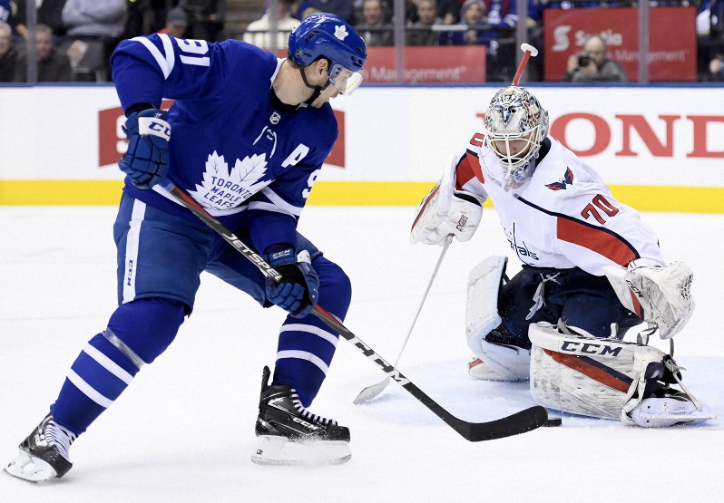 Nhl Capitals Fall 6 3 To Maple Leafs Lose 7th Straight Game The