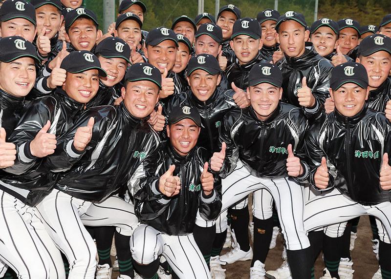 第91回選抜高校野球:津田学園、春の吉報 選手ら笑顔はじけ(その1 ...