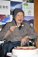 野中正造さん 113歳=世界最高齢男性(1月20日死去)