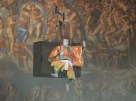 システィーナ歌舞伎「GOEMON 石川五右衛門」(2011年)の片岡愛之助=松竹提供
