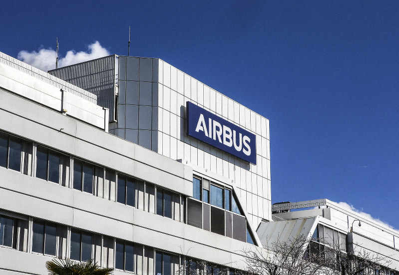 Airbus says its data was hacked, no risk to commercial jets