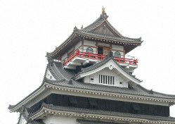 現在の清洲城=愛知県清須市で2015年5月29日、河部修志撮影