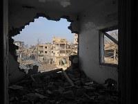 シリア・ラッカの市街地=2019年1月、フォトジャーナリストの安田菜津紀さん撮影