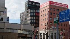 スルガ銀行の本拠地、静岡県沼津市=2018年11月、今沢真撮影