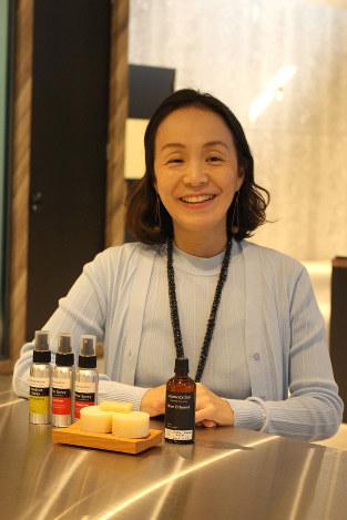 「女性起業家仲間たちの活躍に刺激を受けました」 撮影=田中美智江
