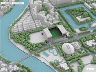 スタジアム(中央)のイメージ図