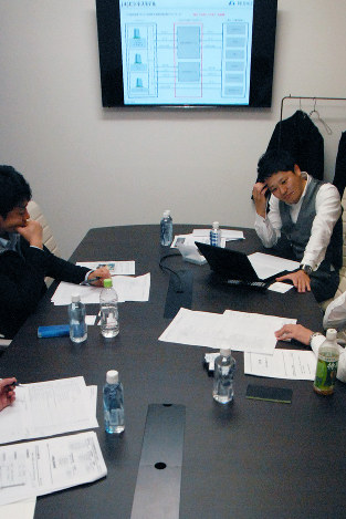 独立支援セミナーに集まった公認会計士(東京都千代田区で)