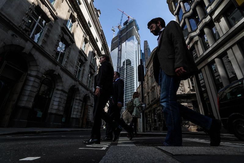 金融街・シティーにも不安がしのびよる