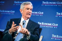 実業家出身のパウエルFRB議長は、市場動向という現実を注視し、利上げを見送った(Bloomberg)