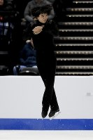 【フィギュア4大陸選手権男子SP】チャ・ジュンファン(韓国)の演技=米カリフォルニア州アナハイムで2019年2月7日、AP