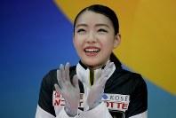【フィギュア4大陸選手権】女子フリーで圧倒的な演技を披露し、逆転で初優勝した紀平梨花(日本)=米カリフォルニア州アナハイムで2019年2月8日、AP