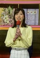 新たに土日曜・祝日の「おはよう日本」のキャスターを務める石橋亜紗アナウンサー=東京・渋谷のNHK放送センターで2019年2月13日、屋代尚則撮影