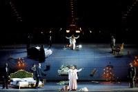 第3幕より、死にゆくヴィオレッタ=2018年12月・トリノ歌劇場 (C)Edoardo Piva / Teatro Regio Torino