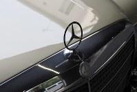 =東京都世田谷区のメルセデスAMG東京世田谷で2019年2月14日、米田堅持撮影
