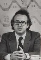 記者会見に臨むポリーニ=1981年4月