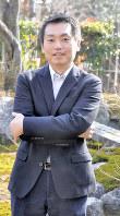「現代は『第2の廃仏毀釈』の状況だ」と話すジャーナリストの鵜飼秀徳さん=京都市右京区で、花澤茂人撮影
