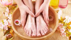 水虫の予防には、帰宅したらすぐに足を洗うとよい