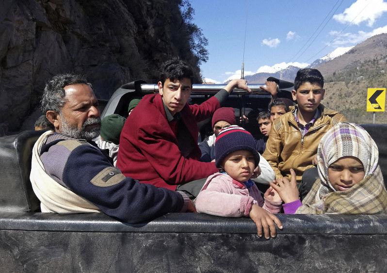 Police say Indian mortar shells kills 6 civilians in Kashmir