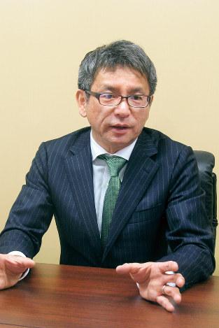詳細解析のキックオフのために渡米し、帰国直後に取材に応じた森敬太社長