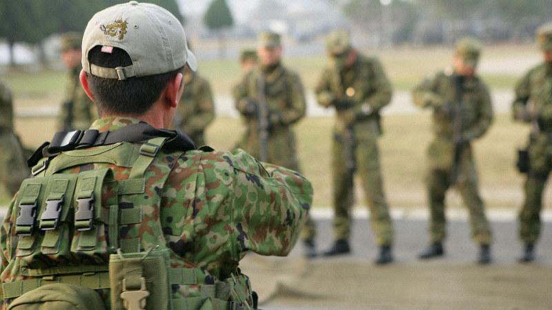 連隊のインストラクターによる連隊CQB基礎訓練=写真はいずれも二見龍氏提供