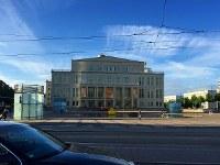 ライプツィヒ歌劇場の正面