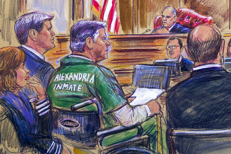 Paul Manafort to be sentenced in Va. court