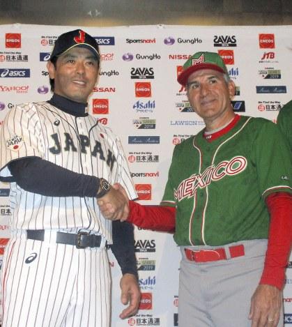 野球:日本代表強化試合 きょうメキシコ戦 稲葉監督「大事な2 ...