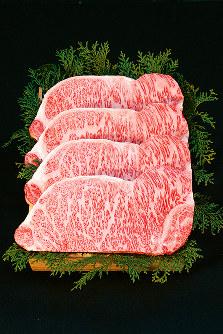全国の和牛品評会で日本一となった「宮崎牛」=宮崎県福岡事務所提供