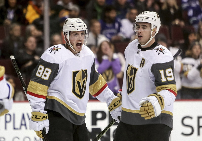 Nhl Stone Scores 1st Goal For Golden Knights In Rout Of Canucks