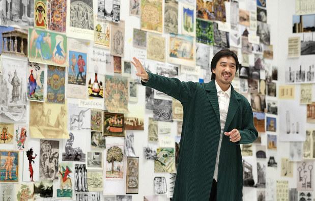 仕事の現場:建築家 田根剛さん 記憶は未来をつくる原動力 - 毎日新聞