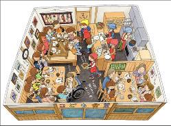 「こども食堂」は子どもから高齢者まで集う地域交流拠点(筆者提供)