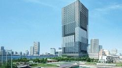 「ブランズタワー豊洲」の完成予想図