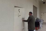 治安警察本部の拘置所=北イラクのスレイマニア市で、西谷文和さん提供