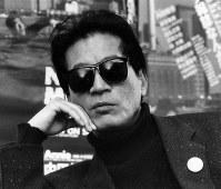 映画「コミック雑誌なんかいらない!」で突撃リポーターを演じた内田裕也さん=1986年撮影