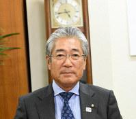 JOC President Tsunekazu Takeda is seen in this file photo taken at a JOC office in Tokyo's Shibuya Ward on May 23, 2018. (Mainichi/Taro Fujii)