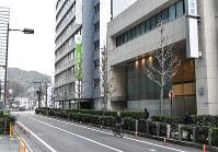 滋賀県内で最高地価だったJR大津駅近くの「大津市梅林1-3-24」付近=成松秋穂撮影