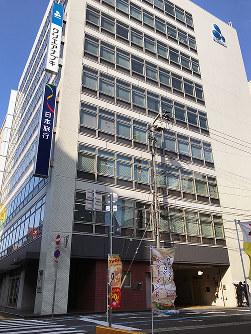 香川県内の商業地で価格、上昇率が最高だった高松市磨屋町2-6外=岩崎邦宏撮影