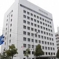 愛媛県警本部=松山市で、中川祐一撮影