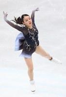 女子フリーで演技する紀平梨花=さいたまスーパーアリーナで2019年3月22日午後8時25分、佐々木順一撮影