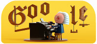 This image provided by Google shows the animated Google Doodle on March 21, 2019. (Google via AP)