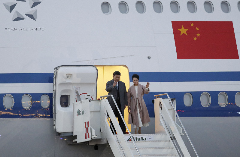 Chinese visit to Italy seeks closer ties, stirs suspicions
