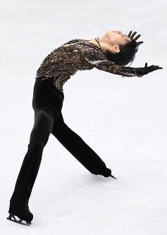 男子フリーで演技する羽生結弦=さいたまスーパーアリーナで2019年3月23日、佐々木順一撮影