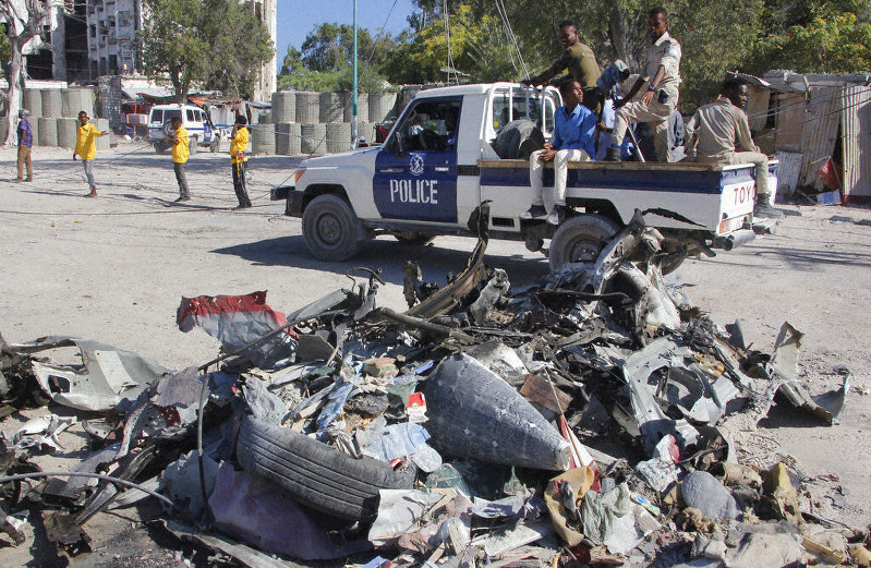Al-Shabab Claims Attacks in Somalia's Mogadishu