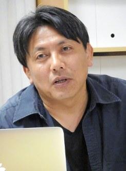 逢坂巌氏=東京都千代田区で2019年3月20日、青島顕撮影